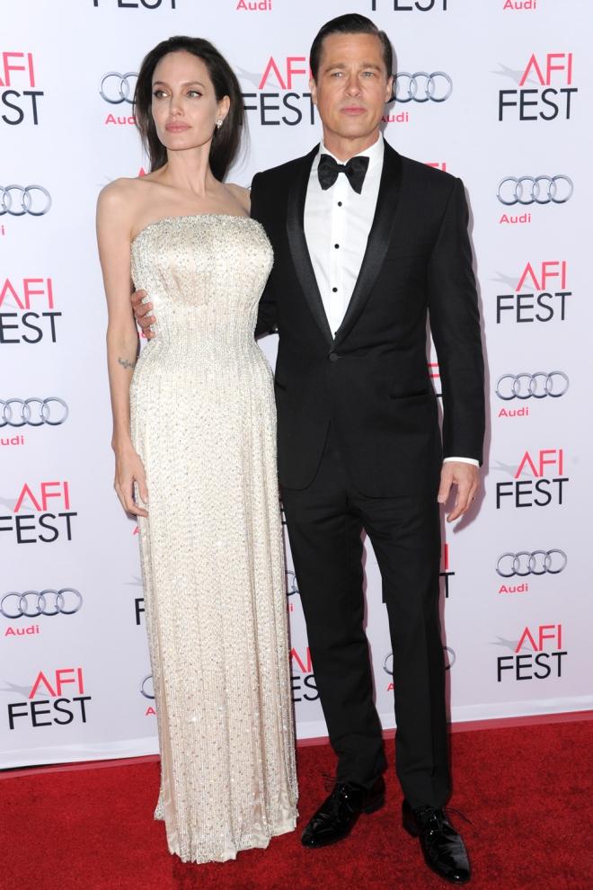 Angelina Jolie y Brad Pitt, juntos de nuevo en el cine