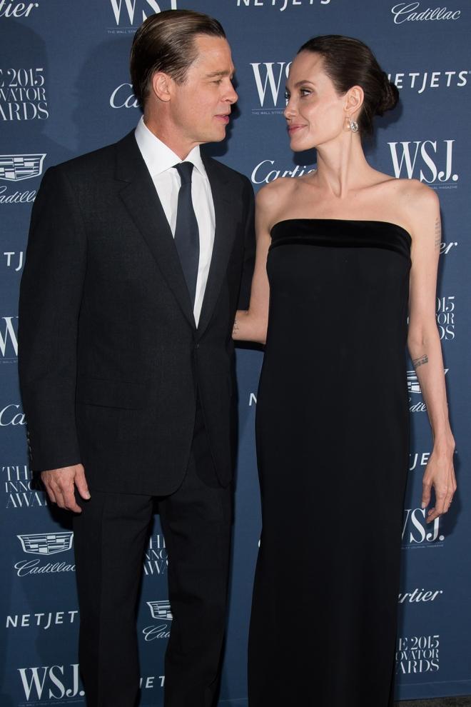 Angelina Jolie y Brad Pitt, complicidad y amor