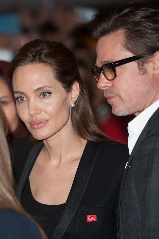 Angelina Jolie y Brad Pitt, pura química