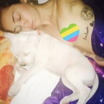 Miley Cyrus desnunda: un 'despelote' animal