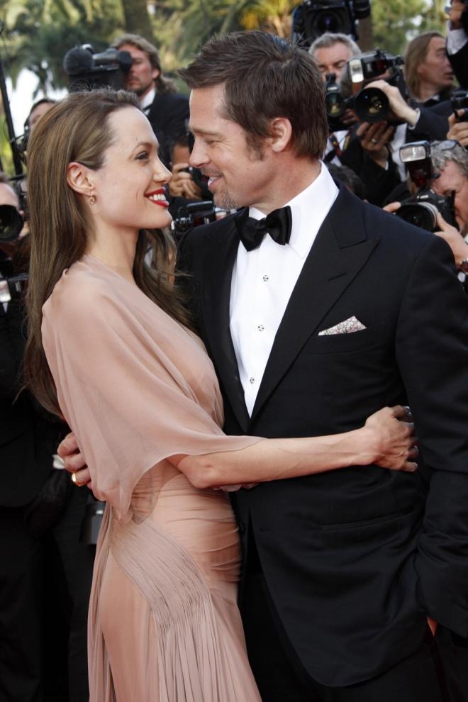 Angelina Jolie y Brad Pitt, la pareja perfecta