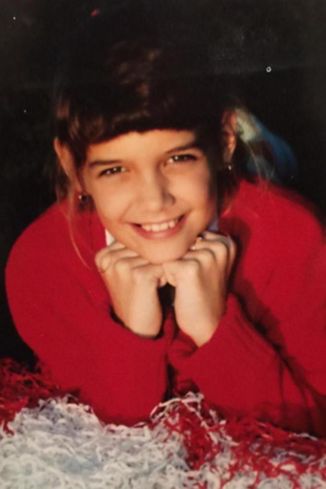 Famosas de pequeñas: Katie Holmes, ¡no has cambiado!