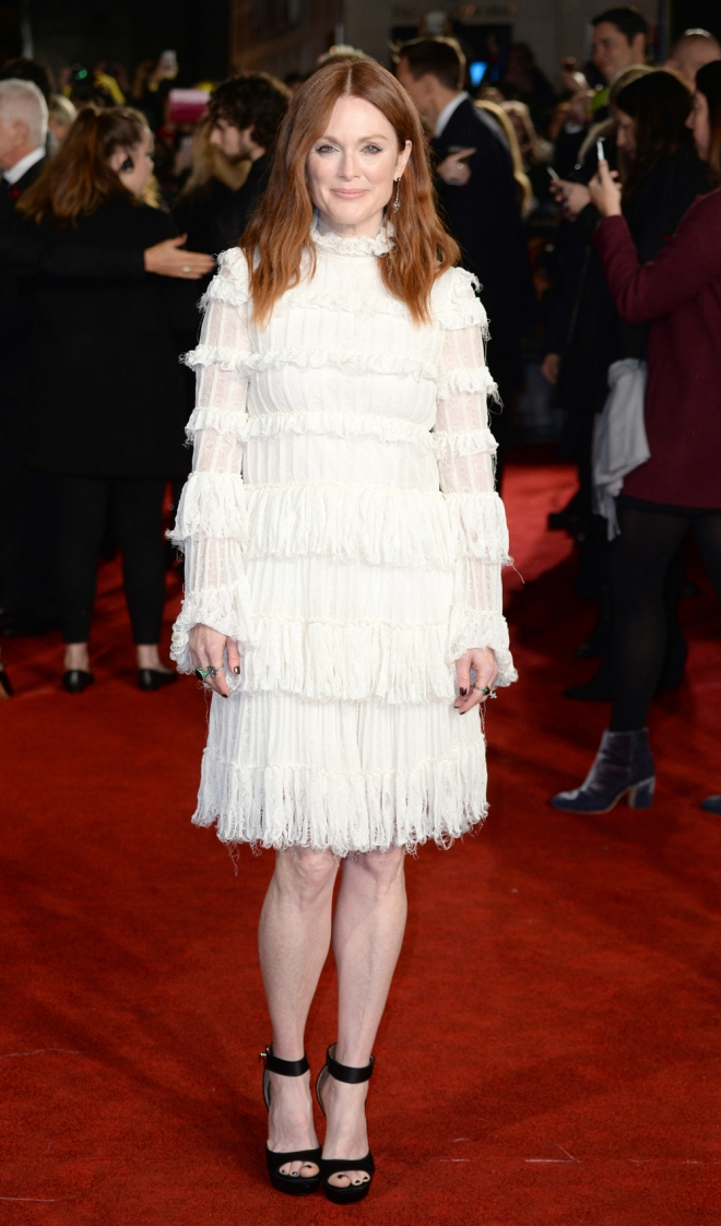 The Hunger Games: Julianne Moore, total white