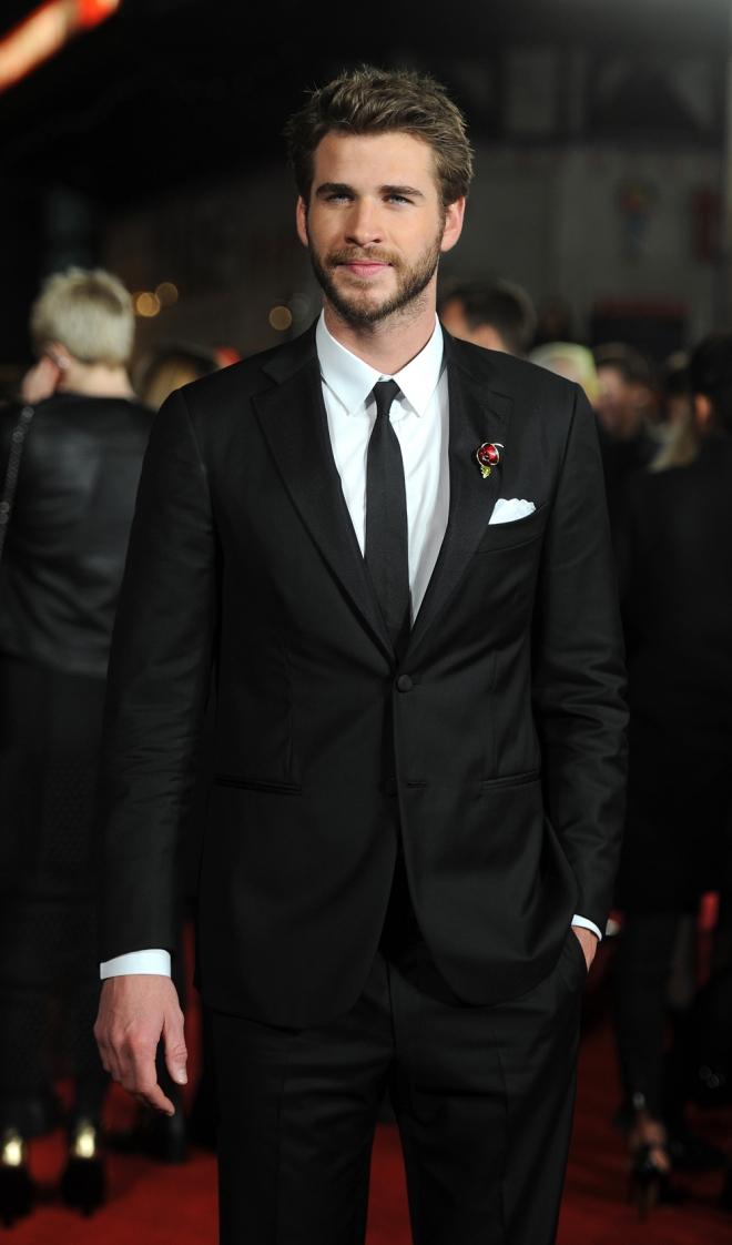 The Hunger Games: Liam Hemsworth, sexy y estupendo