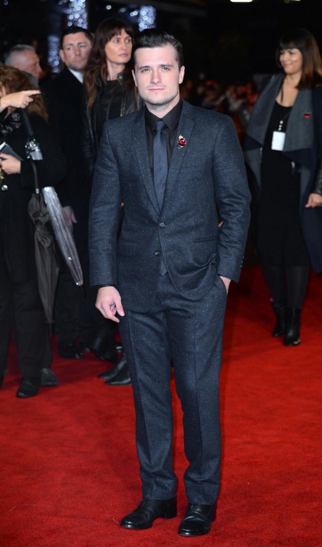 The Hunger Games: Josh Hutcherson, guapo y original