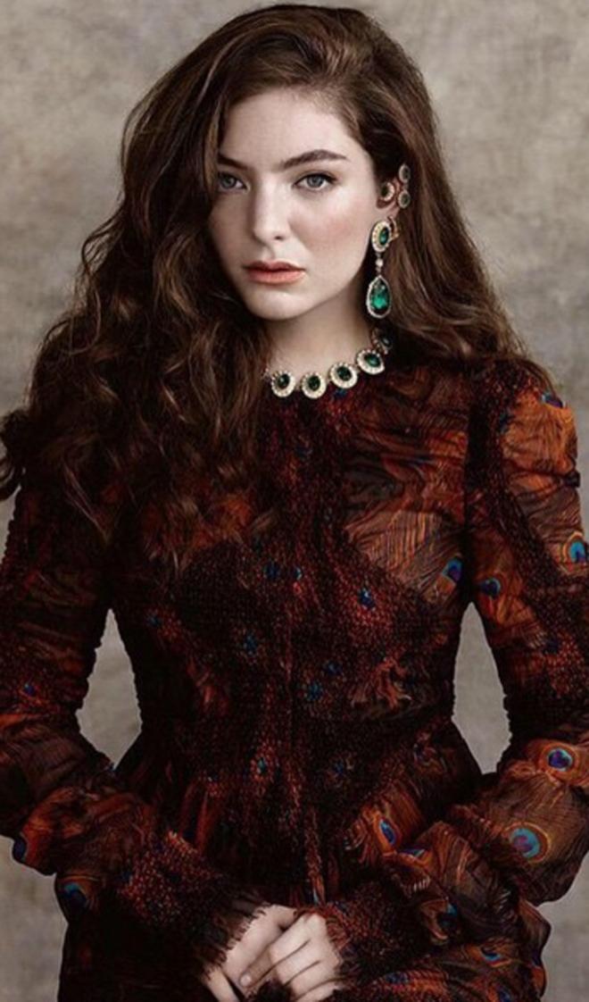 Lorde, estupenda para Vogue