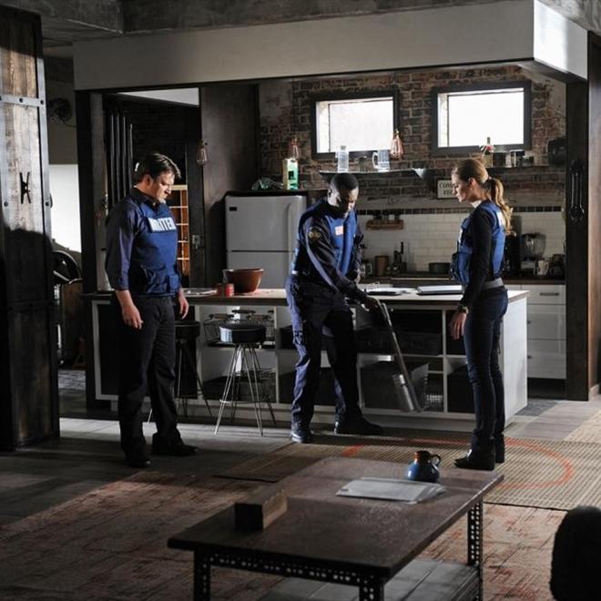 Castle: Beckett pisa una bomba