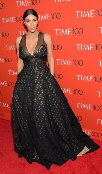 Vestidos para pecho grande: Kim Kardashian