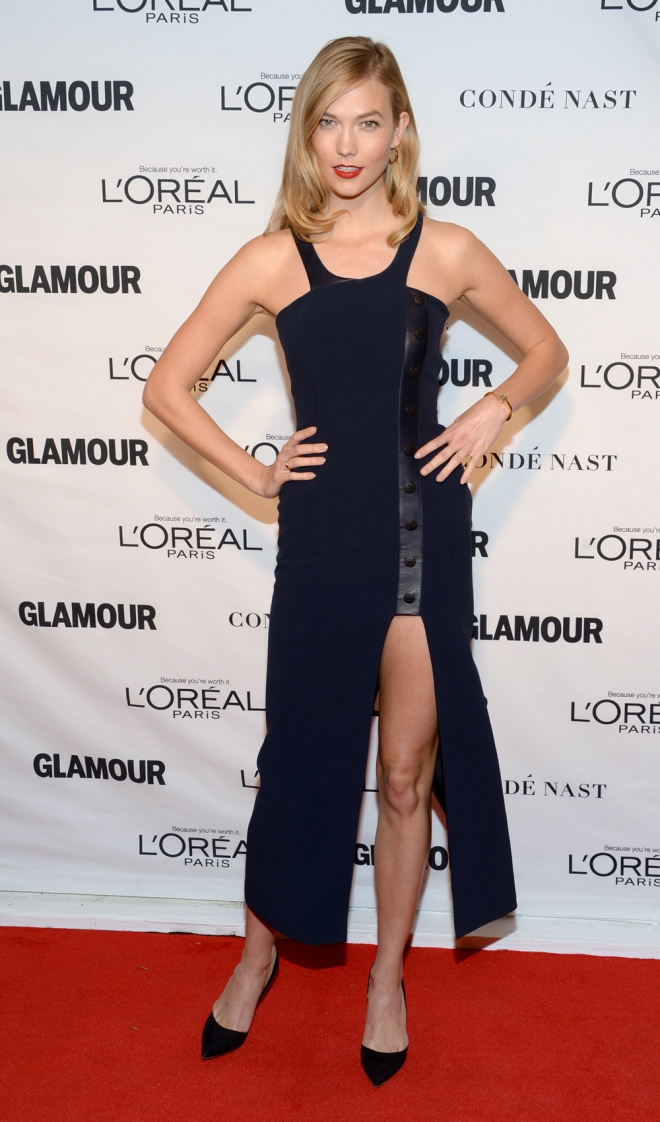 Premios Glamour Mujer del Año: Karlie Kloss, sencilla pero sexy