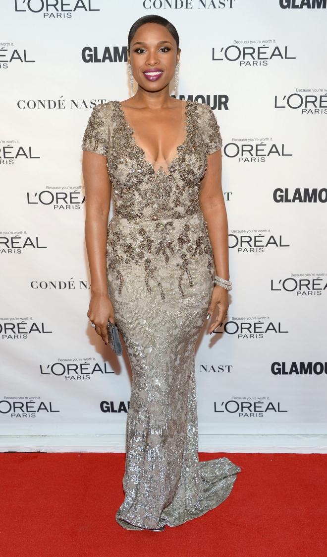 Premios Glamour Mujer del Año: Jennifer Hudson, fantástica