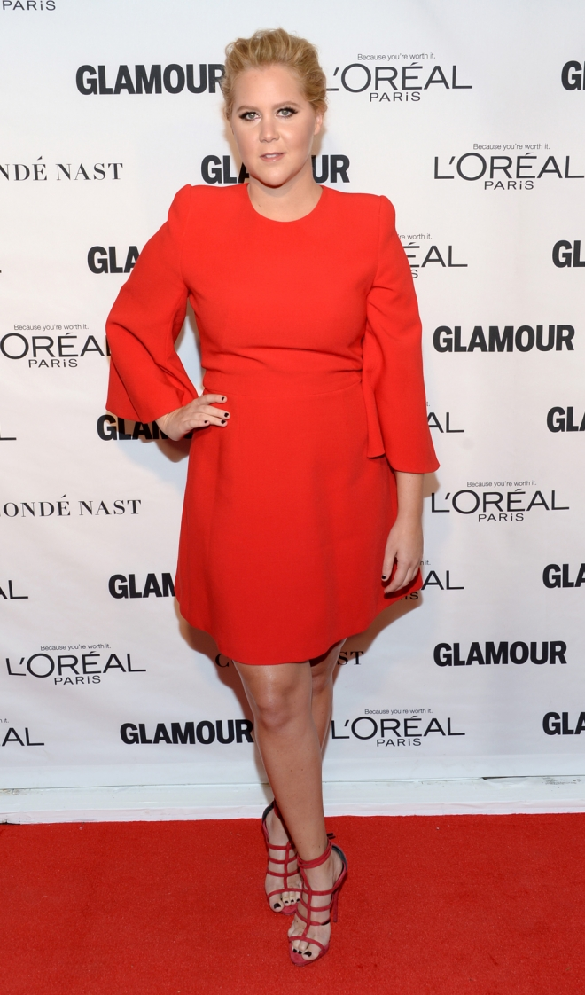 Premios Glamour Mujer del Año: Amy Schumer, total red