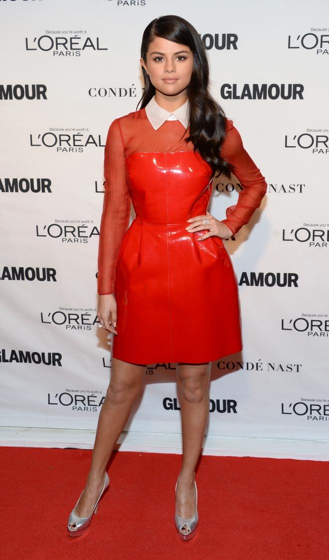 Premios Glamour Mujer del Año: Selena Gomez, radiante y original
