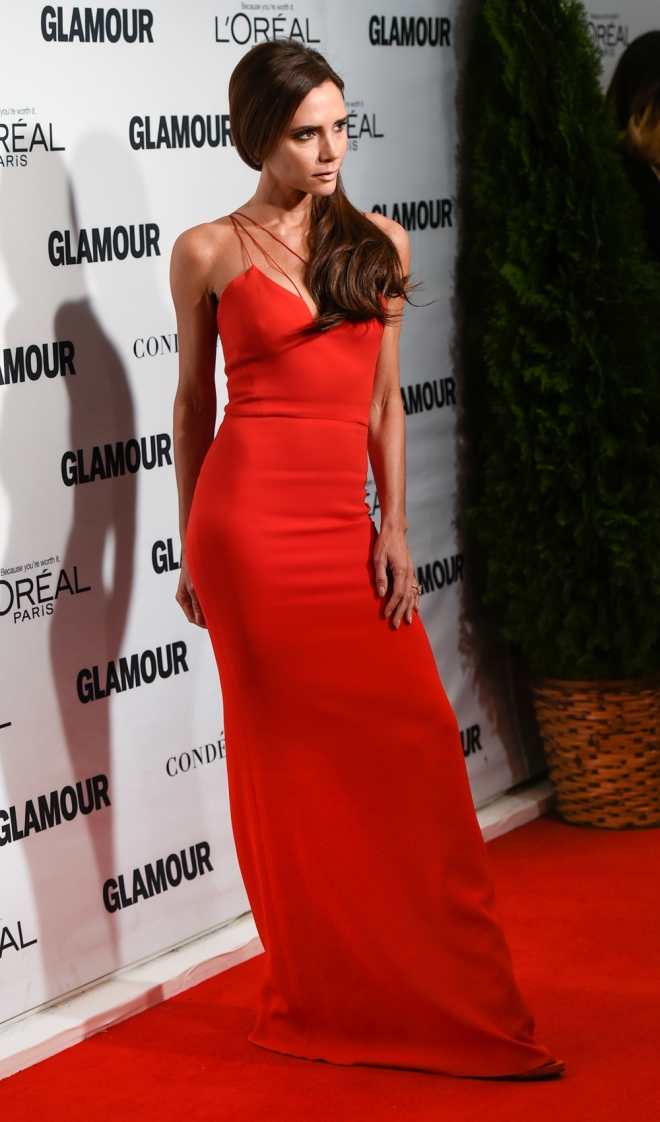Premios Glamour Mujer del Año: Victoria Beckham, muy sexy