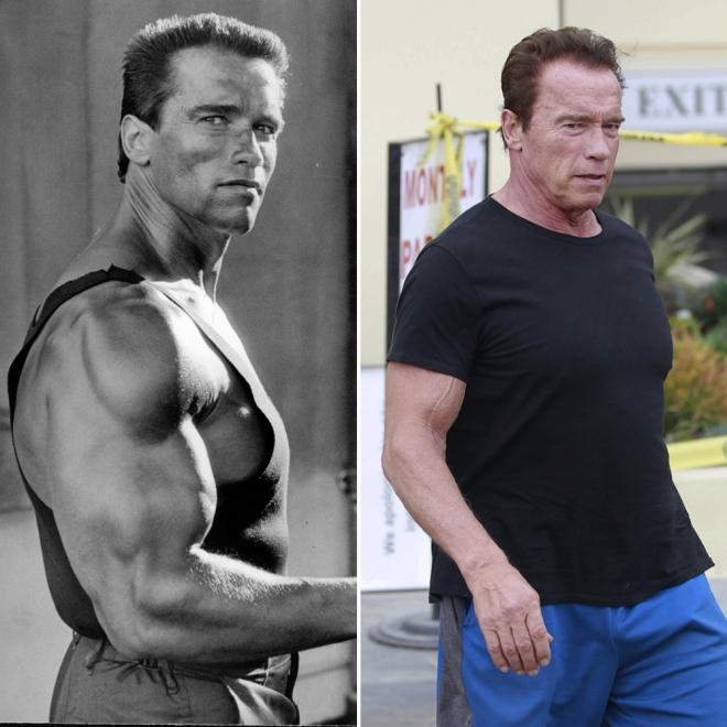 Famosos que envejecieron fatal: Arnold Schwarzenegger