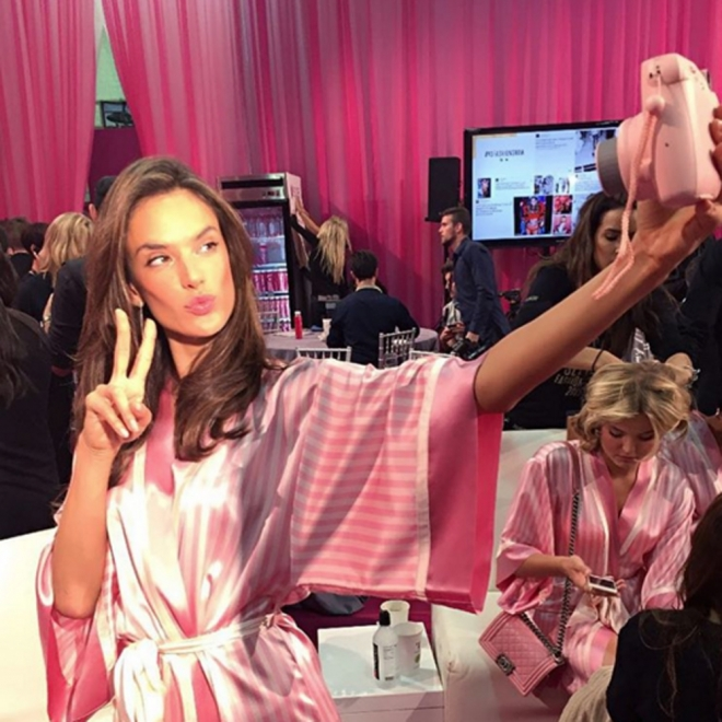 Victoria's Secret: el mejor selfie de Alessandra Ambrosio