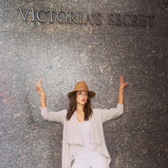 Victoria's Secret: los preparativos de Alessandra Ambrosio