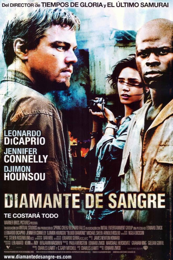 Películas Leonardo DiCaprio: Diamante de sangre