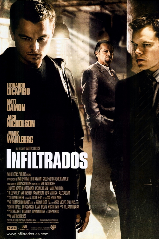 Películas Leonardo DiCaprio: Infiltrados