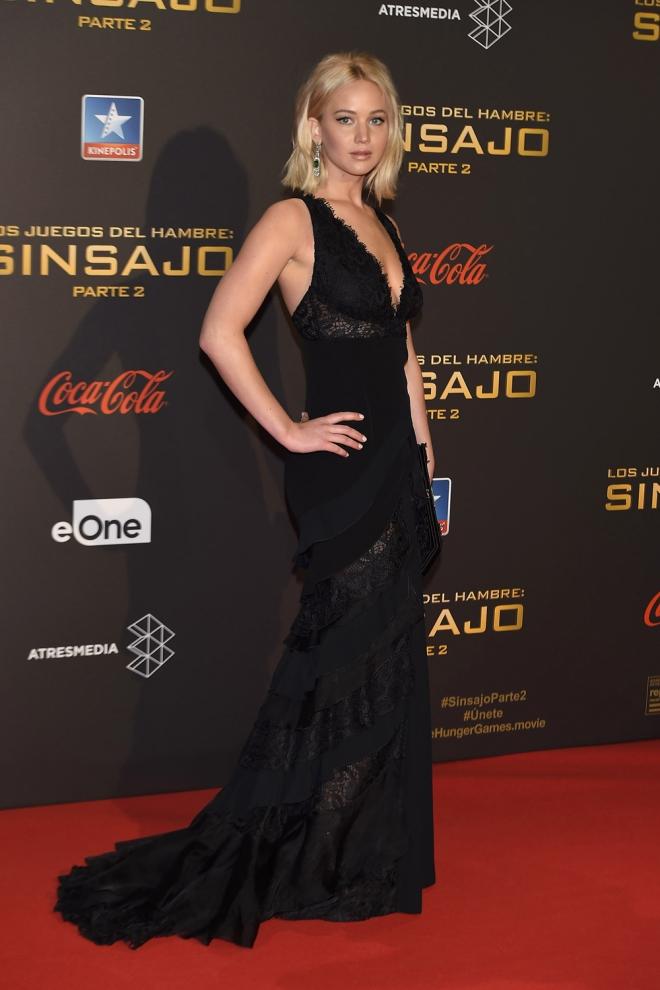 Jennifer Lawrence, muy sexy