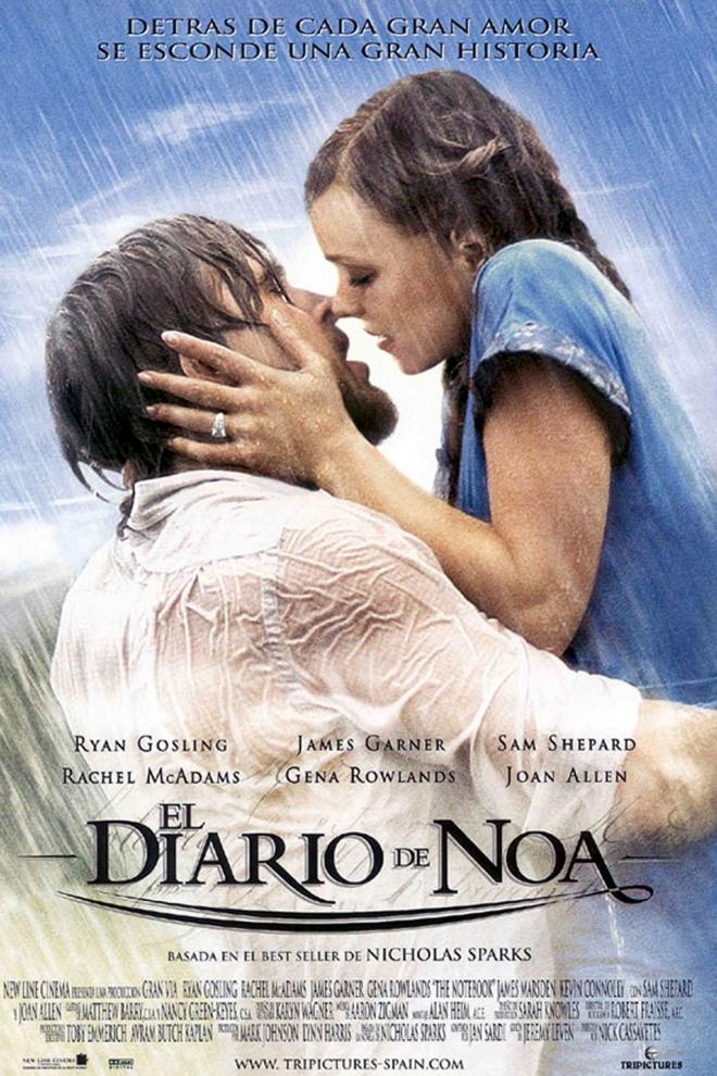 Películas Ryan Gosling: El diario de Noa