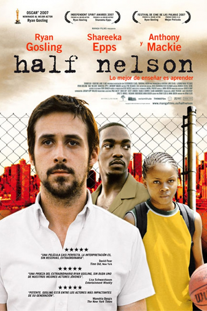 Películas Ryan Gosling: Half Nelson