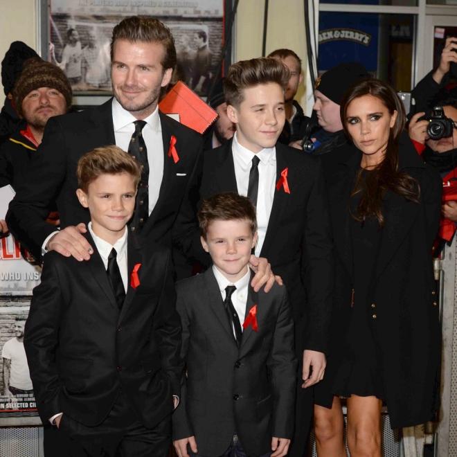 Famosos que se liaron con la niñera: David Beckham