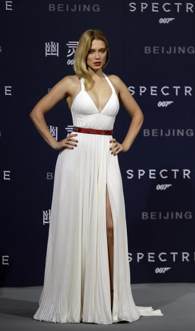 Léa Seydoux, radiante y sexy