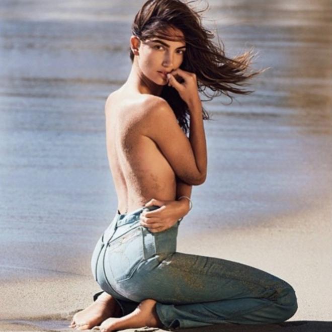 El topless de Lily Aldridge en Instagram
