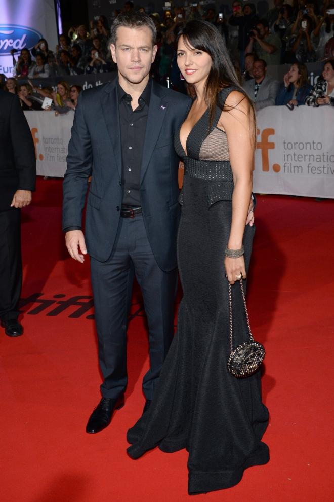 Divorcios famosos: Matt Damon y Luciana Barroso