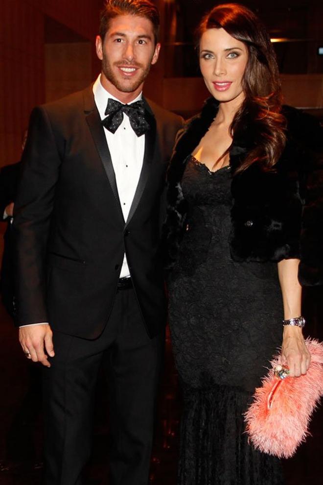 Padres 2015: Sergio Ramos y Pilar Rubio