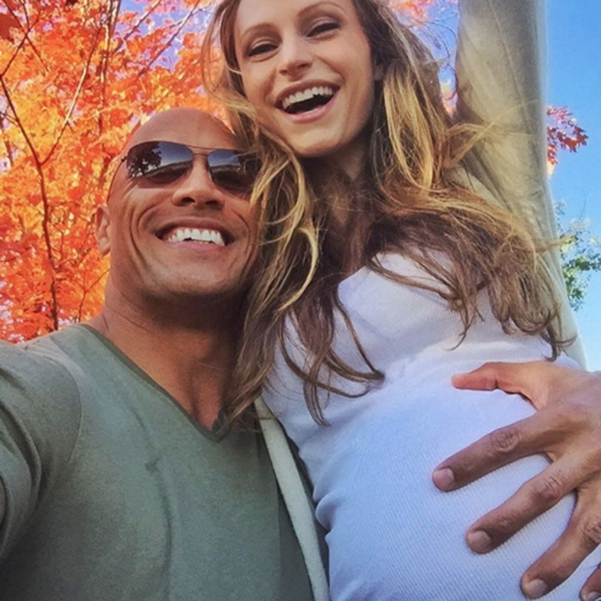 Famosos papás en 2016: Dwayne Johnson 'The Rock'
