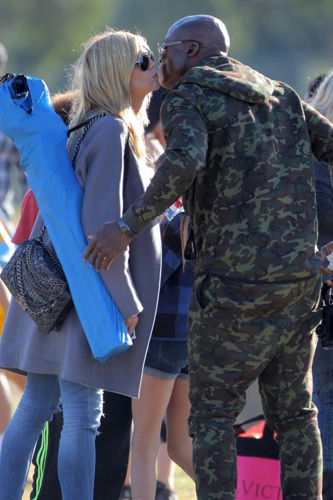 Exparejas que se llevan bien: Heidi Klum y Seal