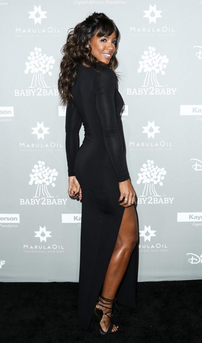 Baby2Baby: el look más sexy de Kelly Rowland