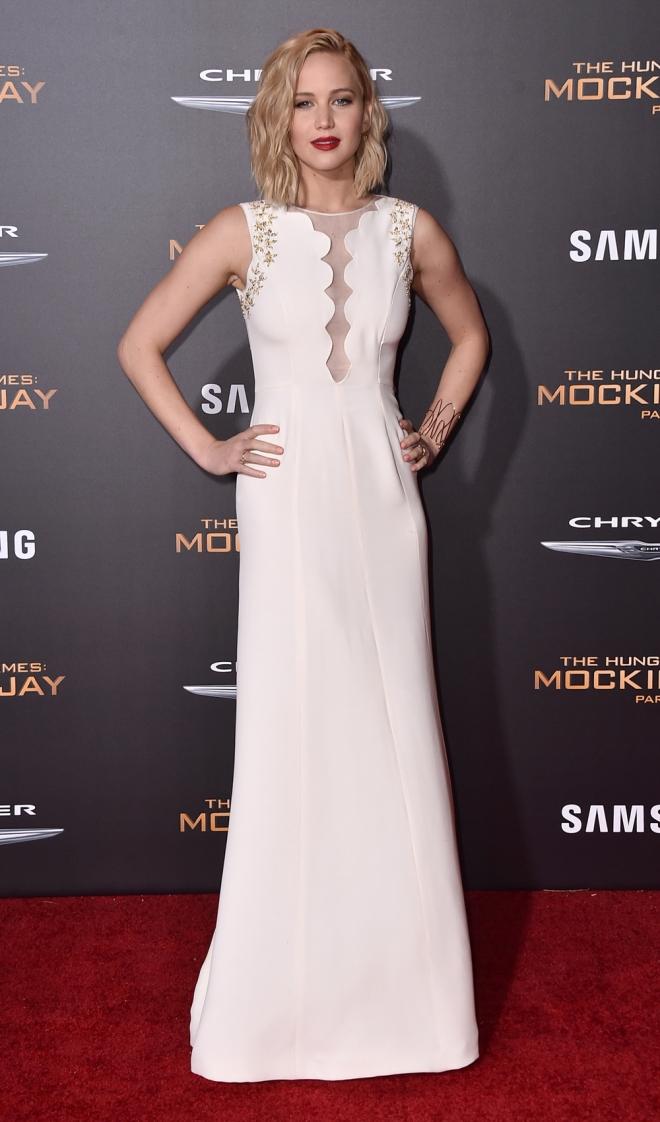 The Hunger Games: Jennifer Lawrence, radiante y estupenda