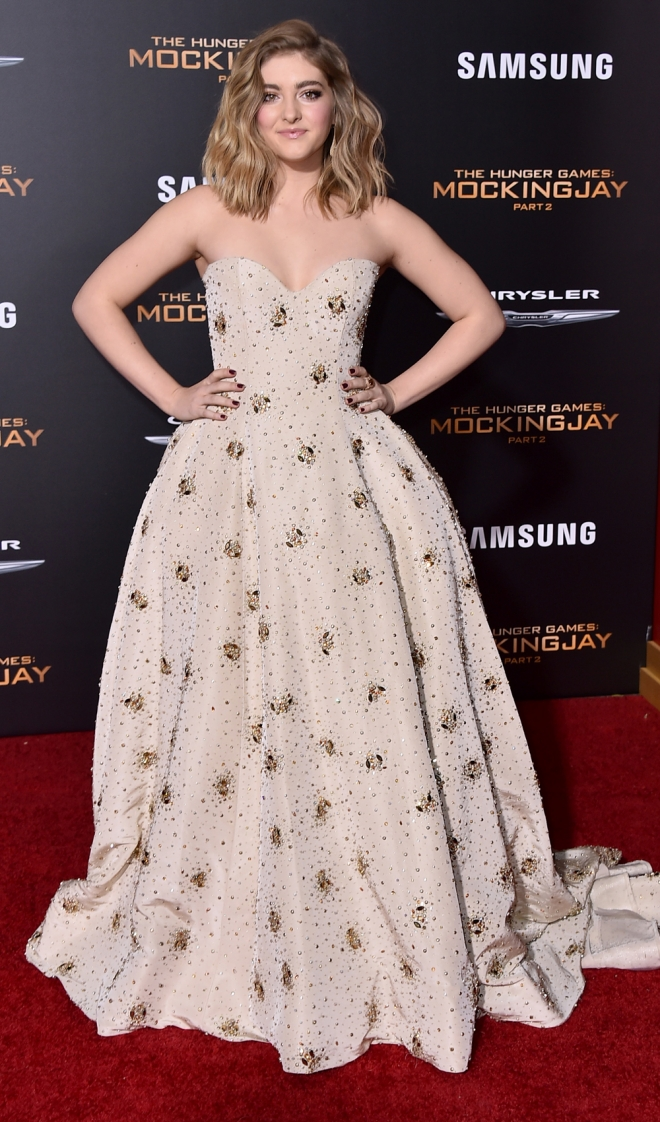 The Hunger Games: Willow Shields, imagen de la juventud