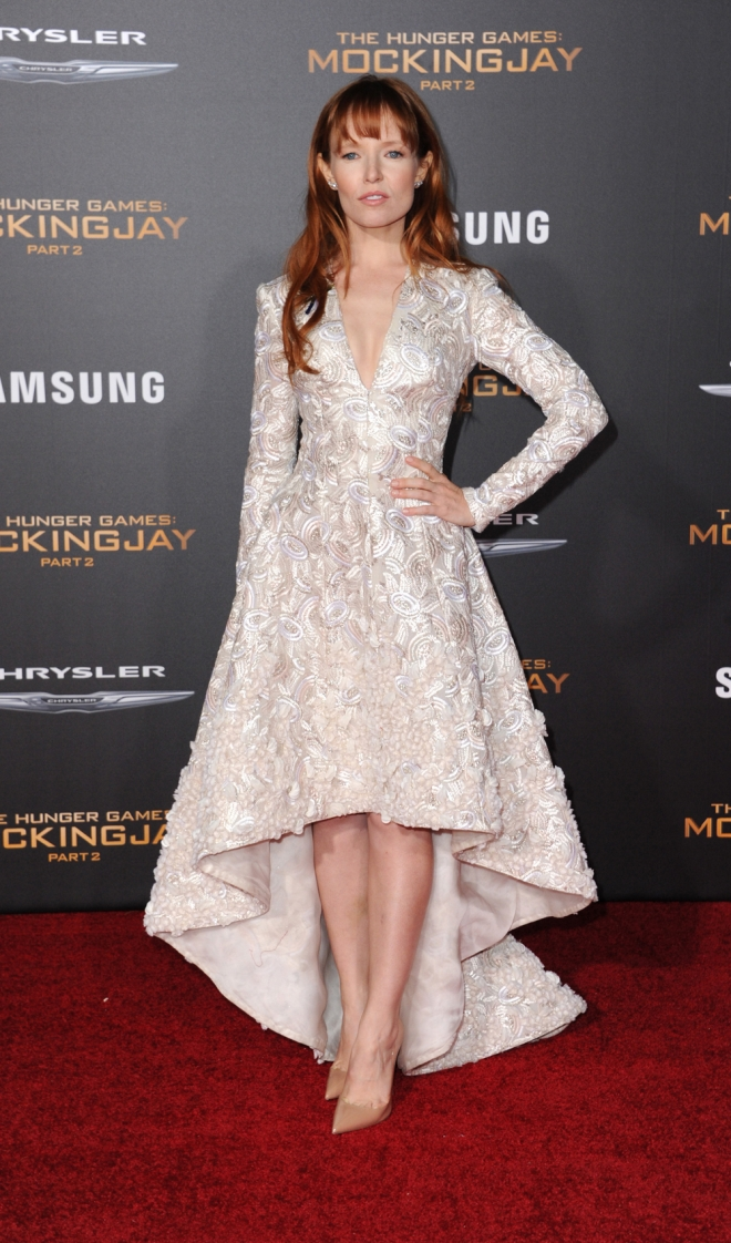 The Hunger Games: Stef Dawson, muy guapa