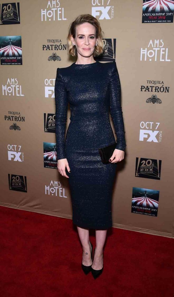 Sarah Paulson, radiante y estupenda
