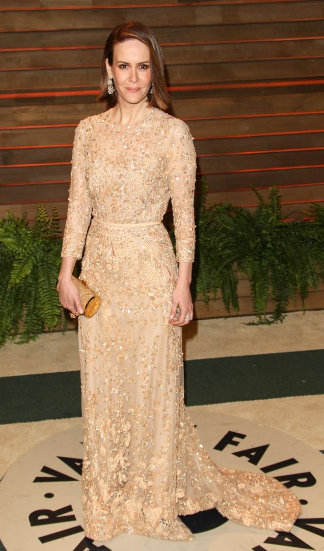 Sarah Paulson, elegante y sofisticada