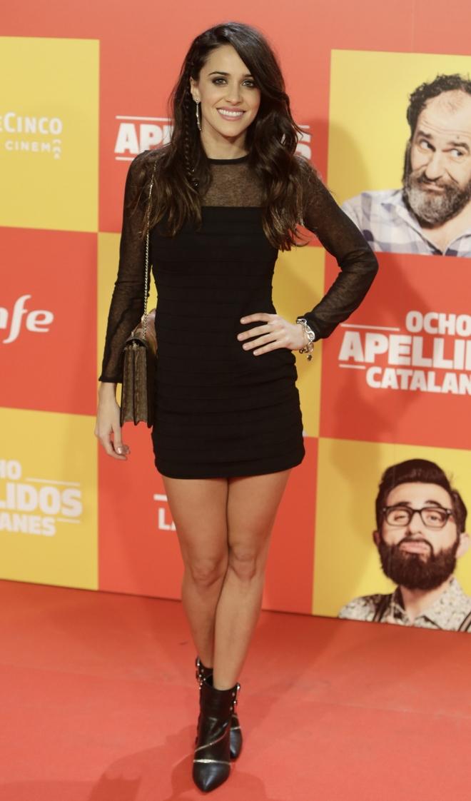 Ocho apellidos catalanes: Macarena García, total black
