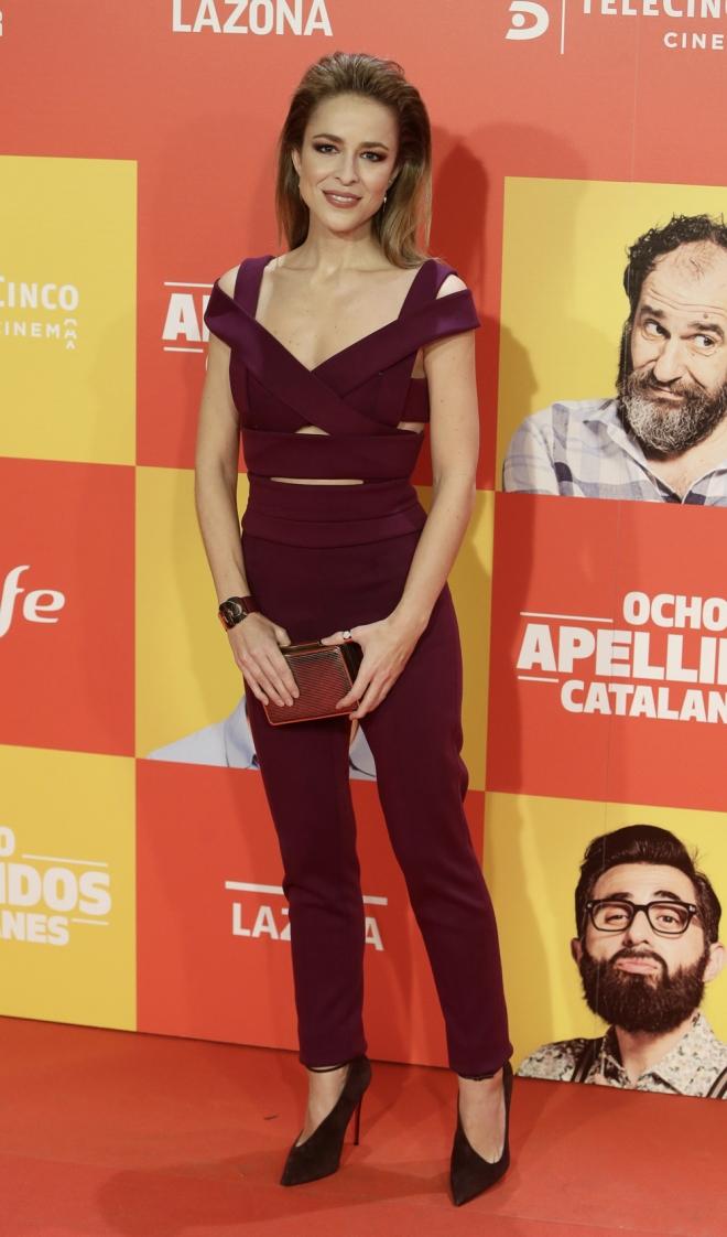 Ocho apellidos catalanes: Silvia Abascal, siempre elegante