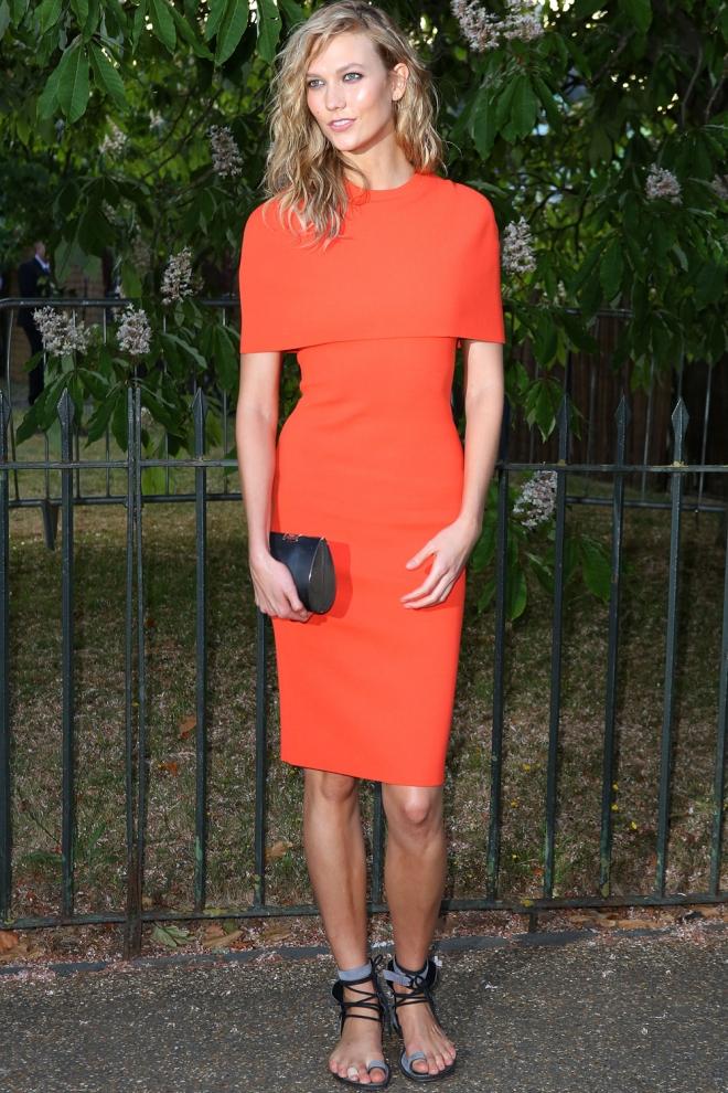 Karlie Kloss, sencilla pero elegante