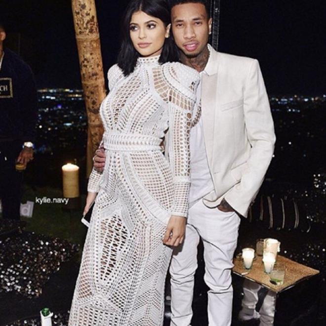 Tyga quiere ser como Kanye West: adora a una Kardashian