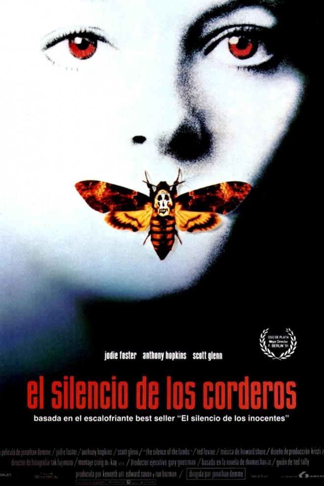Películas de Jodie Foster: El silencio de los corderos