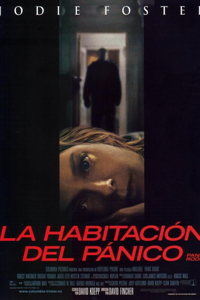 Películas de Jodie Foster: La habitación del pánico