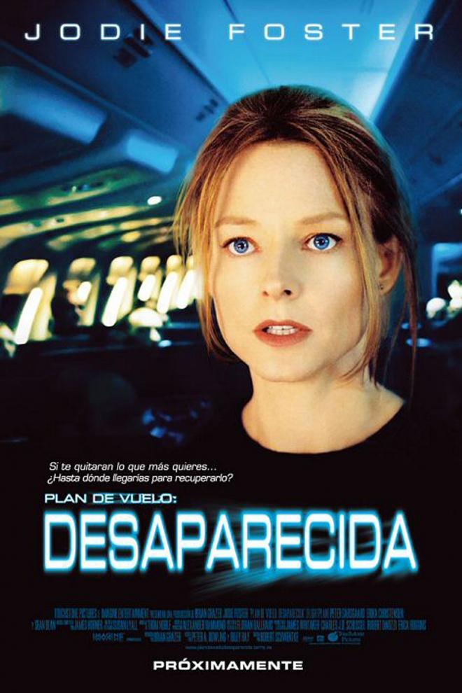 Películas de Jodie Foster: Plan de vuelo, desaparecida