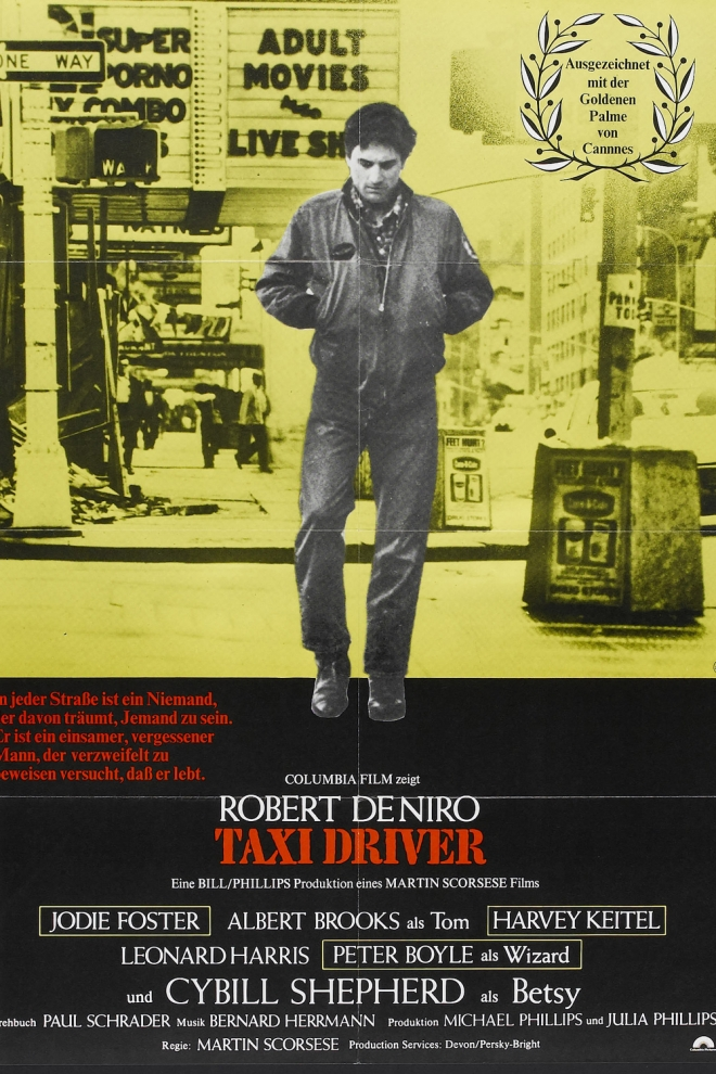 Películas de Jodie Foster: Taxi driver