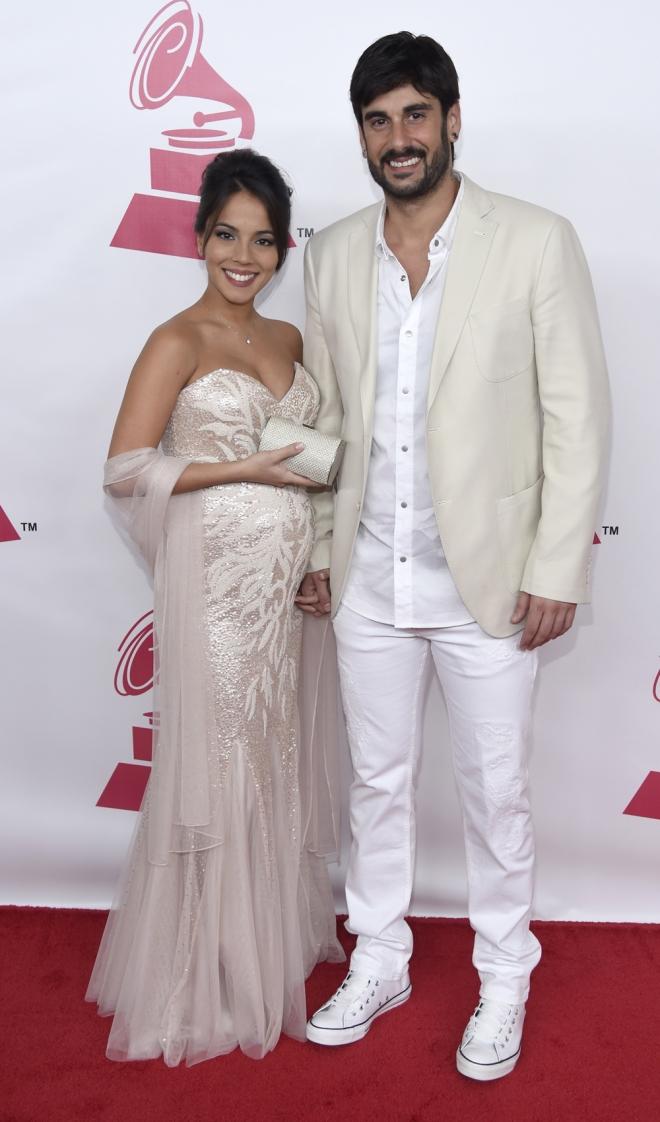 Persona del año Grammys 2015: Melendi y su novia