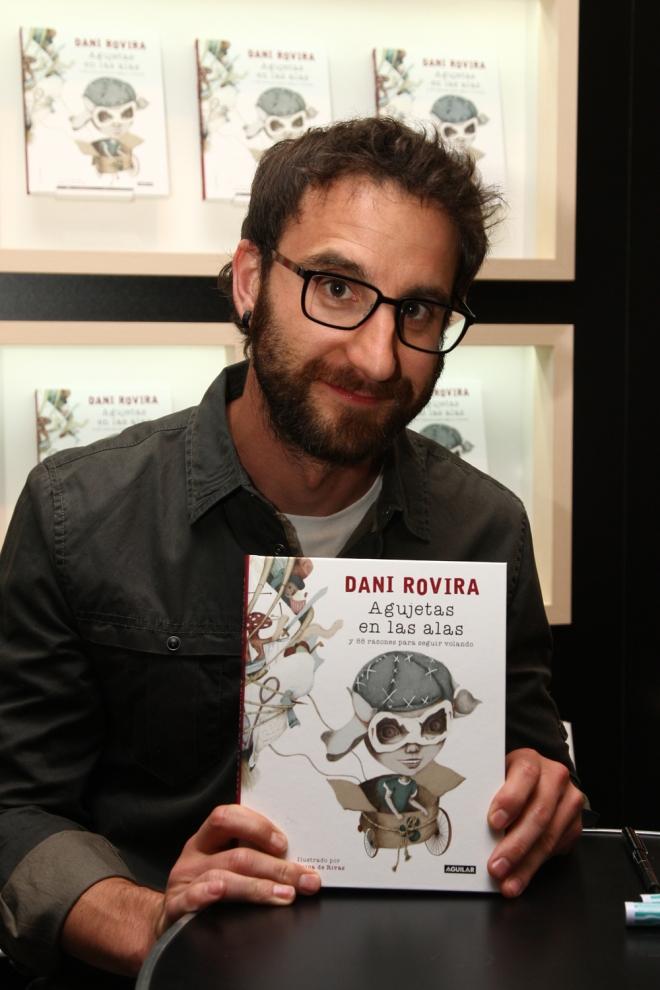 Día del libro: Dani Rovira, todo un soñador