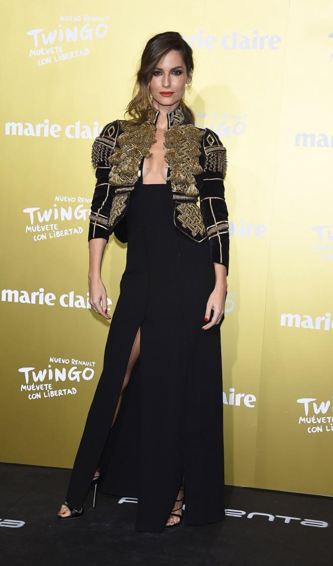 Premios Marie Claire 2015: Ariadna Artiles, look torero