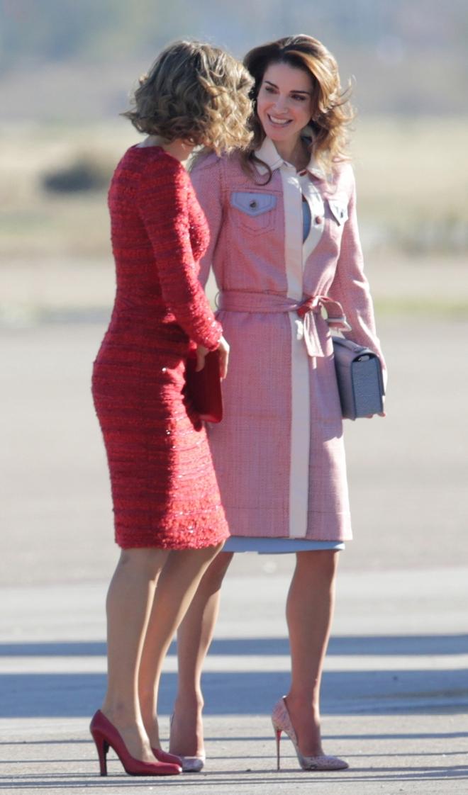 Rania de Jordania y la reina Letizia, estilos únicos en 2015